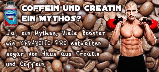 Coffein und Creatin ein Mythos