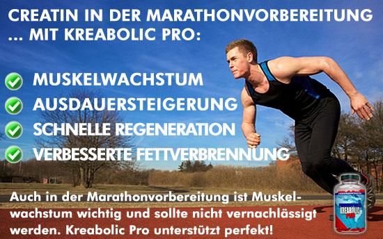 Creatin in der Marathonvorbereitung